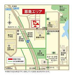 【UR都市機構】富田林市・金剛東ニュータウン(建築会社指定無し):案内図