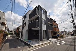 ~「武蔵小杉駅」まで徒歩15分。南西角地の新築戸建。