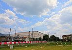 JR片町線「野崎」駅 徒歩13分に庭付き2階建ての街!資料請求受付中※当社施工例
