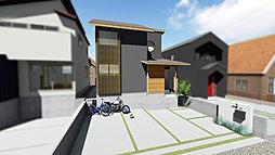 一級建築士とつくるデザイン住宅【宇治市広野町桐生谷】の外観