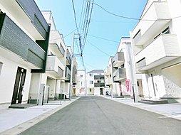 ----トップランナー基準対応住宅----  全21棟の新街区
