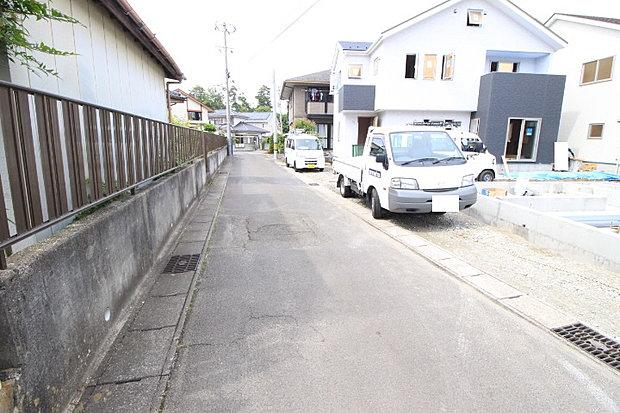 【前面道路】4mの前面道路