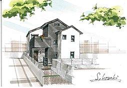 S&Gハウジングオリジナル建築 ハートフル天然木の家 大久保山ノ内の外観