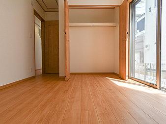 大容量の収納スペースで住空間はスッキリ広々