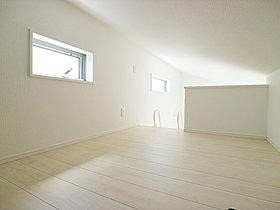 居室のなかをすっきりとさせる事が出来る造り。