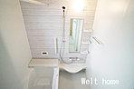 浴室 お子様と一緒に入れる広々1坪サイズのバスルーム♪ 3号棟