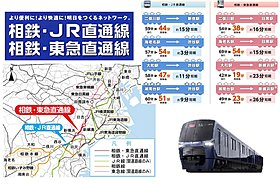 新幹線で利用する【新横浜】や、【渋谷】へも乗り換え無しに‥♪