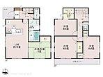 (1号棟)4LDK、土地面積105.09m2、建物面積97.7m2
