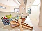 【Kitchen】 調味料やキッチン用品も、お部屋を彩る大切な小物。 お好きなテイストで統一すれば、素敵な空間に。
