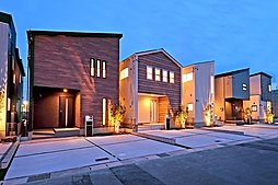 【外観完成予想パース】 港区茶屋新田に全19区画の 新しい街並みが誕生♪
