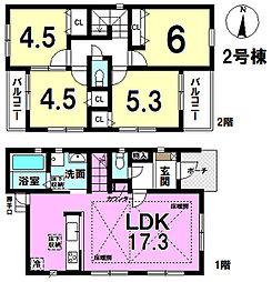 3980万円、4LDK、土地面積99.25m2、建物面積85.05m2 4LDK。 床暖房、食洗器、標準装備のハイスペック住宅です!
