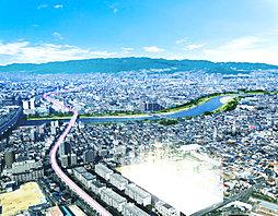 【阪急阪神不動産】ハピアガーデン武庫川みずきの邸第2期の外観