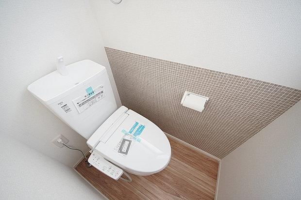 【トイレ】ウォシュレット付きで快適にお使いいただけます