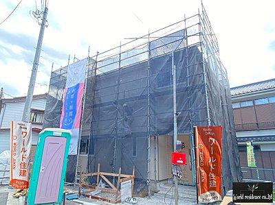 現在建設中です。重厚感のある建物です。,3LDK#4SLDK,面積81m2~105.90m2,価格2,690~3,190万円,西武池袋線「入間市」駅 バス8分 駅より徒歩23分,,埼玉県入間市扇町屋5丁目