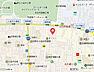 地図,2LDK,面積54.65m2,賃料11.6万円,JR中央線 東小金井駅 徒歩15分,,東京都武蔵野市桜堤2丁目