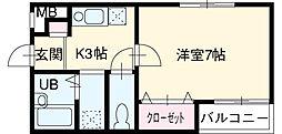 高畑駅 4.3万円