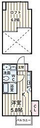 京成大和田駅 5.4万円