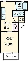 益生駅 3.8万円