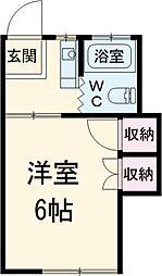 船橋日大前駅 2.1万円