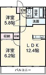 甚目寺駅 5.4万円