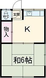 道徳駅 2.5万円