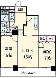 志賀本通駅 9.5万円