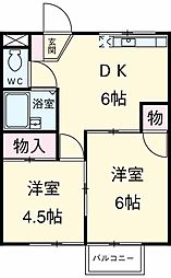 奥沢駅 9.5万円