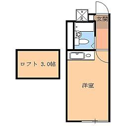 雀宮駅 2.3万円