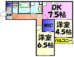 都賀駅 6.1万円