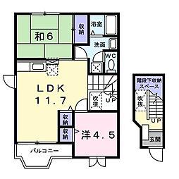 原谷駅 4.3万円