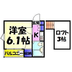 新検見川駅 2.6万円
