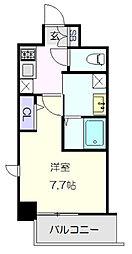 名古屋市営東山線 新栄町駅 徒歩2分の賃貸マンション 10階1Kの間取り