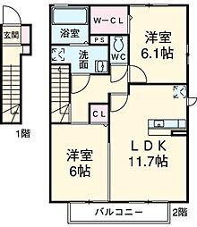 西尾駅 7.5万円