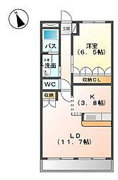富田駅 6.2万円
