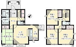 白井洋之邸賃貸住宅 1階4LDKの間取り