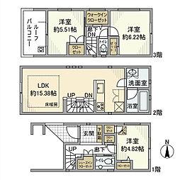 千駄木駅 25.8万円