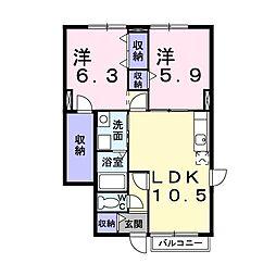 曳馬駅 5.5万円