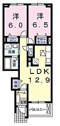 川越富洲原駅 6.8万円
