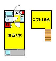 高根木戸駅 2.4万円