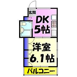 みどり台駅 4.5万円