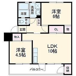 高根公団駅 4.0万円
