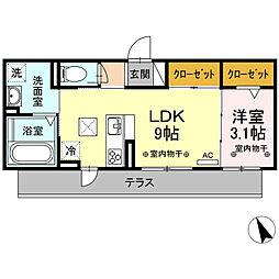 川原町駅 5.9万円