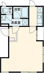 ideas Komazawa pav 3階1Kの間取り
