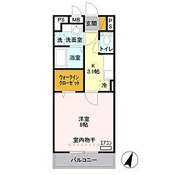 入曽駅 6.0万円