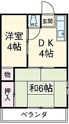 鶴里駅 2.6万円