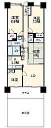 京成大久保駅 12.5万円