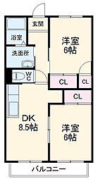 茶屋ヶ坂駅 5.5万円