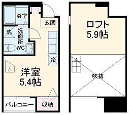 葭川公園駅 5.0万円