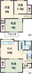 西八王子駅 8.9万円