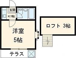 東伏見駅 3.8万円